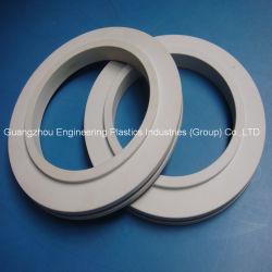 Plástico de alta precisión de anillo de la Junta de PVC