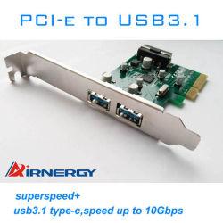 2 порта USB3.1, тип a карту расширения PCI-E платы расширения