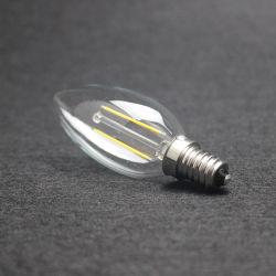 8W dimmbare 2700K LED lange Glühlampe