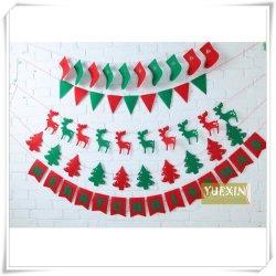 Red & Green DIY Craft senti pour la pendaison de décoration de Noël