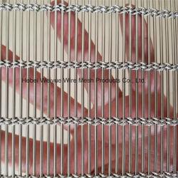 Mur rideau métallique Wire Mesh pour façade décorative/ombrage solaire