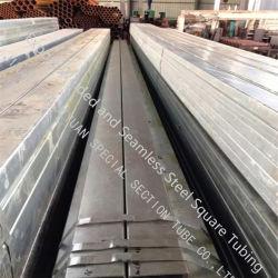 Feux de fer galvanisé à chaud de 48,3 pour l'ingénierie de la structure du tube