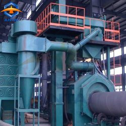 Le sablage de tuyaux en acier pour le nettoyage de la machine et Machine de sablage
