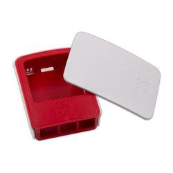 De hete Framboos Pi 3 van de Verkoop ModelB & B+ Officieel Rood en Wit Geval