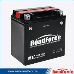 Motorrad-Batterie Ytx14L-BS AGM-Mf entspricht ATV Motorrad-Roller-Motor Honda