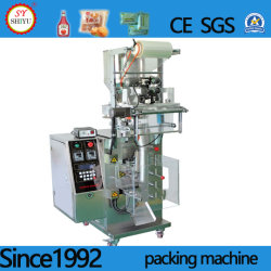 Automatisches vertikales Multifunktionskorn sät PartikelMsg, Zucker, Kaffee, Tee, Desiccantgranule Dichtungs-verpackenverpackungsmaschine