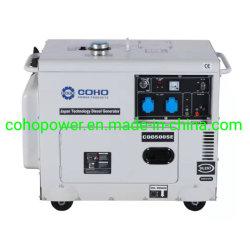 3kw/5kw/7kw petit silencieux Phase 1/3 générateur diesel pour utilisation à domicile