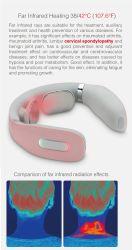 무선 360 적외선 물리치료 지능형 넥 마사지로 반죽하기 열