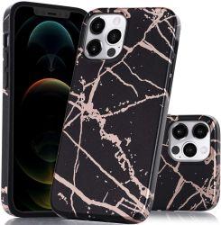 الهاتف المحمول إكسسوارات الهاتف المحمول بالجملة الهاتف المحمول لينة TPU سيليكون غطاء خلفي كامل IMD iml مخصص مخصص مخصص مخصص للرخام لجهاز iPhone