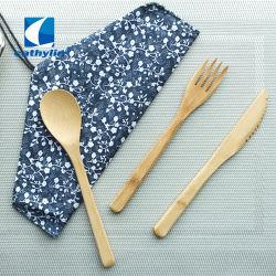 Neue Felder Eco freundliches mehrfachverwendbares biodegradierbares Bambusprodukt-Tischbesteck
