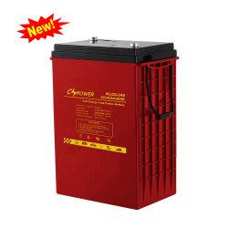 Cable de batería recargable Cspower carbono 6V340Ah batería de almacenamiento de energía solar