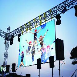 Bildschirm-videowand-druckgießenaluminium 500X500mm des Stadiums-P3.91 Mietdes panel-LED