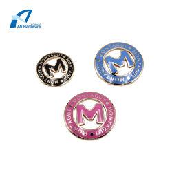 De hete Verkopende Markering van het Embleem van de Hardware van de Handtas van het Etiket van het Metaal van de Manier voor Dame Tote Bag