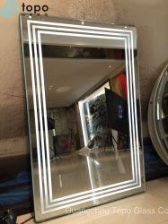Glas van de Spiegel van Fogless van de Schakelaars van de aanraking het Zilveren (M.-yb1-DJ004)