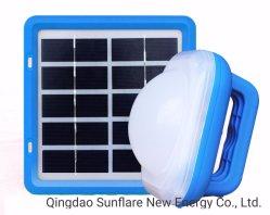 Китай поставщика IP65 Водонепроницаемые/FM/SD/USB 3W солнечного света лампы фонаря зарядка мобильного телефона