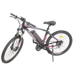 Comercio al por mayor de 26 pulgadas a mediados de Motor de accionamiento Mountain bicicleta eléctrica con el pedal ayudar