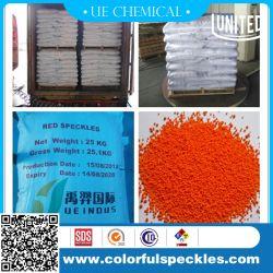 Ssa mouchetures colorées ou de granules de détergent avec Rouge/Vert/Bleu/Orange/de couleur blanche