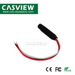 التقاط الصوت المخفي للحساسية العالية المصغرة لنظام كاميرا CCTV مراقبة الصوت عالي الدقة التقاط الصوت عالي الحساسية لمدة ميكروفون مسجل الفيديو الرقمي (DVR) للأمان