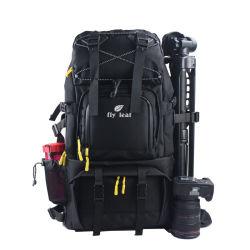 Большой потенциал двойного плечо водонепроницаемая камера портативного компьютера для установки вне помещений в рюкзак сумка (CY6917)