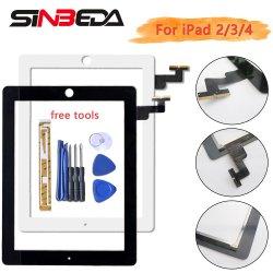 Glas van het Comité van de Aanraking van de Becijferaar van het Scherm van de Aanraking van Sibeda het Voor voor iPad 2/3/4 Vervanging A1395 A1416 A1458 met Plakband