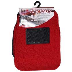 Red Waterbroof Mat Spule Matte für Outdoor-Boden Auto Eco Freundliche Spike Rückseite PVC Beste Qualität rutschfest / schützen Autoboden