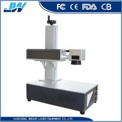 machine de marquage au laser de marquage de fibre Or Argent Bijoux en laiton