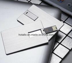 بطاقة ذاكرة USB Flash Drive من الألومنيوم C762 باللون الفضي