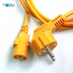 La alimentación de CA Cable de extensión de la UE Recoiler Carrete de cable retráctil