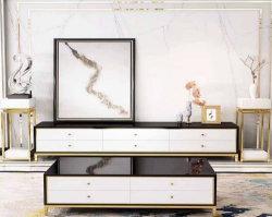 140 يعيش غرفة أثاث لازم جلد أريكة طاولة مع تصميم مبتكر