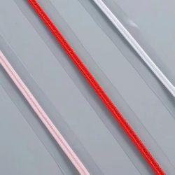 PVC 비닐 봉투를 위한 주문 투명한 PVC 테이프 지퍼 나일론 지퍼 Rolls