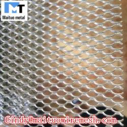 Dva de aluminio recubierto de polvo de la seguridad limitada visión de una forma de malla de pantalla