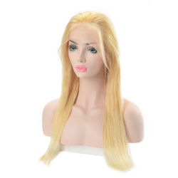 Женщин кружева передней Wig русые цвет волос человека парики