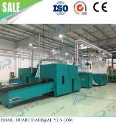 China am besten, die kosmetische Baumwolauflage-Verfassung zu produzieren, die Maschinen-Schleichen-Auflage-Ausschnitt-Maschinen-Baumwollverfassungs-Puder-Hauch-Herstellungs-Maschine herstellt