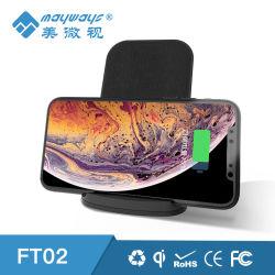 10W Qi de carregamento rápido sem fios Wireless iPhone/ Samsung S7/9/8 Carregador móvel + Carregador sem fio móvel Android