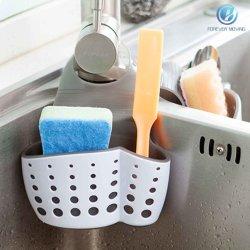 Évier de cuisine sac pendaison évier Caddy éponge porte-savon Hanging Basket Gadget Racks de stockage Cuisine Salle de bains organisateur