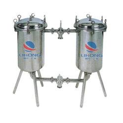 Filtre Double-Container en acier inoxydable pour le lait, du vin, boissons, vinaigre, etc.