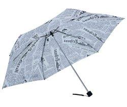 Paraguas de viajes Sol y lluvia ligera, compacta y pequeña paraguas bolsillo