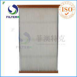 Моющийся Filterk полиэстер панели фильтрации воздуха