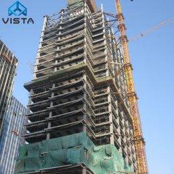 Portable Pubilc Préfabriquées Préfabriqués Structure en acier de haute élévation bâtiment