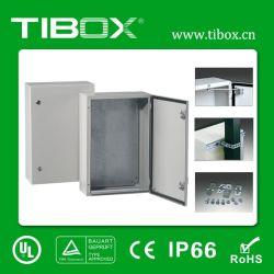 Metal Box-Waterproof Carcasa de montaje de pared de acero - Cuadro Tibox-Aluminum