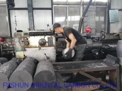 Fabricant d'approvisionnement des électrodes de graphite de carbone de haute qualité pour le four à arc 250-450 HP RP SHP UHP