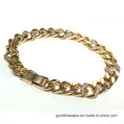 2017 Nouvelle conception Bracelet avec 3un blanc CZ pour l'homme (BT6762)
