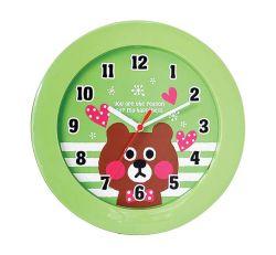 Cartoon Style Quartz Analoge Gift Wall Clock