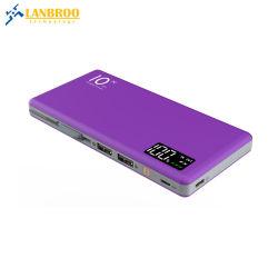 La Banca portatile alla moda 10000mAh di potere con il cavo in-1 di Built-in 3 per il telefono mobile digiuna fornitore dell'OEM della Cina del caricatore
