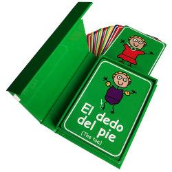 طفلة باكرا يعلم بطاقات عادة يطبع [هبّي بيرثدي] [غريتينغ كرد] و [مموري كرد غم] مع عادة علامة تجاريّة مجموعة صندوق
