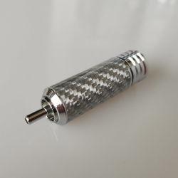 Conector RCA macho terminal de cobre puro DIY HiFi altavoz