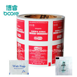 Алюминиевая фольга печать бумага для упаковки спирт блока
