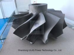 Roue de turbine une partie de moulage moulage à modèle perdu Ulastw1 la roue de compresseur