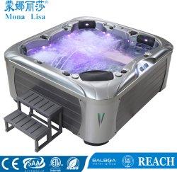 2017 Nouvelle arrivée Jacuzzied brancher et utiliser un bain à remous extérieur M-3390 à chaud