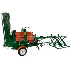 Registro del procesador de 20 toneladas de leña de madera de 6 vías Splitter Splitter